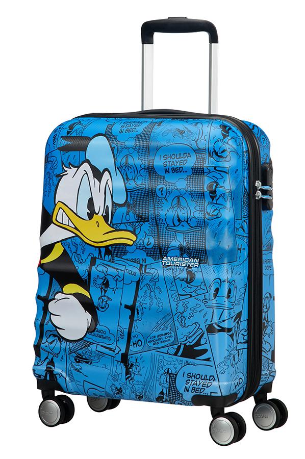 Detalhe - Mala de Cabine 4 Rodas 55cm Donald Duck | Americantourister.pt