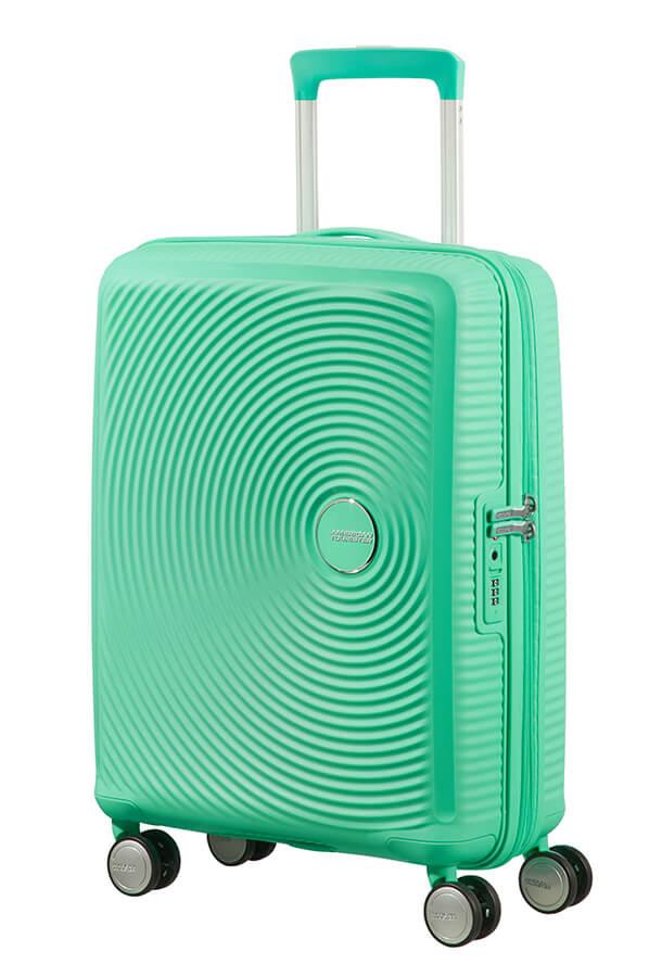 Bagagem de Cabine 55cm Expansível Deep Mint - Soundbox | American Tourister