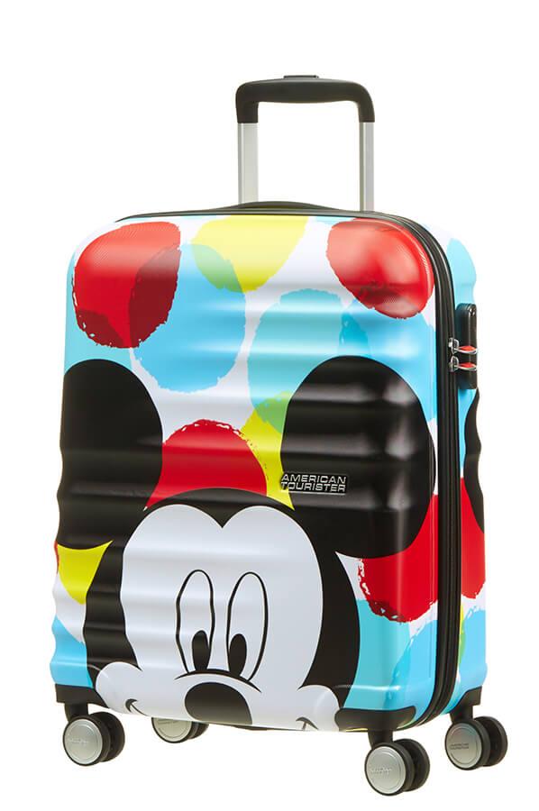 Detalhe - Mala de Cabine 4 Rodas 55cm Mickey | Americantourister.pt