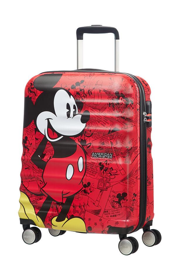 Detalhe - Mala de Cabine 4 Rodas 55cm Mickey   Americantourister.pt