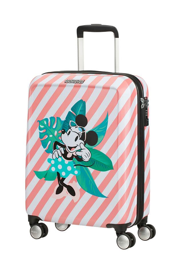 Mala de Cabine 55cm c/4 Rodas Minnie em Miami Holiday - Funlight Disney | American Tourister