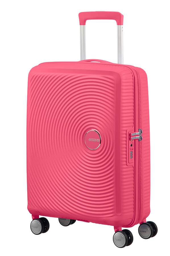 Mala de Cabine 55cm Expansível Hot Pink - Soundbox | American Tourister