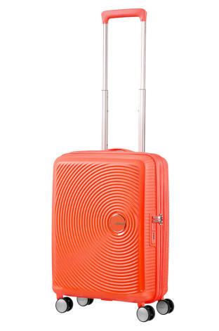 Trolley - Bagagem de Cabine 55cm Expansível Spicy Peach - Soundbox | American Tourister